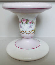 Antique Porcelain Hand Painted Ham /Meat Carving Stand Display Stand Tableware