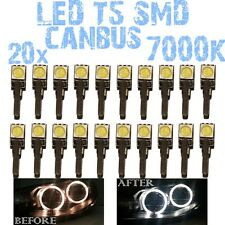N° 20 LED T5 7000K CANBUS SMD 5050 DEPO FK Angel Eyes Headlights VW Bora 1D4