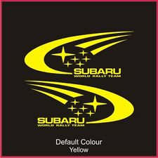 Subaru World Rally Decals x2, Vinyl,Sticker, Graphics,Car, Brakes, Racing, N2083