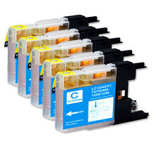5 CYAN NEW ink Cartridge use for LC71 LC75 MFC J625DW J825DW J835DW