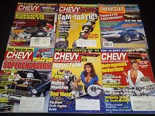 1980S-2000S CHEVY HIGH PERFORMANCE MAGAZINE LOT OF 24 ISSUES - CAR COVER - M 707