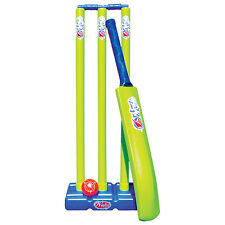 WAHU CRICKET SET - SUMMER BEACH BAT BALL STUMPS - INCLUDED CARRY BAG (BMA-691)