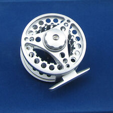 Aluminum Fly Fishing Reel 5/6 River Trout Fishing 85mm Adjustable Drag