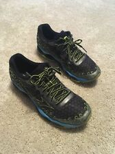 Mizuno Wave Prophecy 3 Running Shoes Grey and Green Men's Size 8