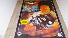 jackie chan  POLICE STORY  ! affiche cinema karate kung-fu