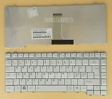 for TOSHIBA Satellite A200 A200D A205 A205D A210 A210D Keyboard Nordic Silver