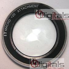 For Nikon D3200 D3100 D5200 D5100 +20 Close Up Macro Lens Work w 18-55mm Lens