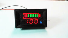12V Digital LED Acid Lead Batteries Indicator Battery Capacity Tester Voltmeter