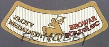Poland Brewery Jędrzejów Strzelec Beer Label Bieretikett Centaur Horse jes10
