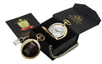 ANDY WARHOL Signed GOLD POCKET WATCH Luxury Gift Case Box Pop Art Campbell Soup