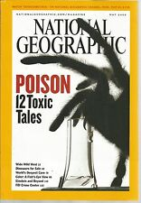 National Geographic May 2005 Poison/Wide Wild West/Deepest Cave/FBI Crime Center