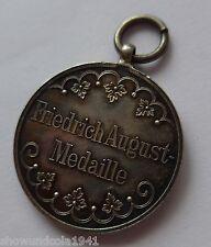 Deutsches Reich Sachsen -Friedrich August Medaille- Silber