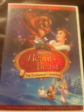 Beauty and the Beast: An Enchanted Christmas (DVD, 2002, Mint Disc , Rare