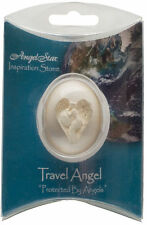 Protected by Angels TRAVEL ANGEL Worry Stone in Gift Packaging - AMAZING DETAIL!