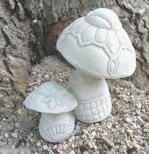 latex double mushroom mold plaster mold cement mold casting garden mould