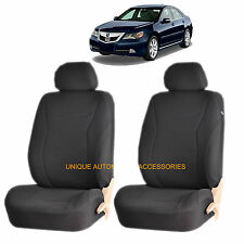 BLACK SPEED AIRBAG COMPATIBLE FRONT LOWBACK SEAT COVERS SET for ACURA TL RDX MDX