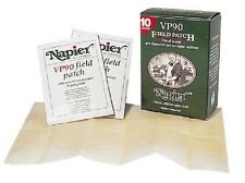 10 x Napier VP90 Oiled Field Patch - Shotgun Rifle Cleaning Cleaner Cloth