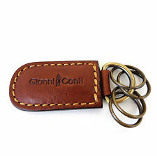 Gianni Conti Leather Key Fob - Style: 919169 Made in Italy New with Tags