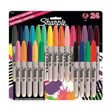 Sharpie Marker Pen Fine Permanent Assorted Colour x 24, Cheap School Office Pens