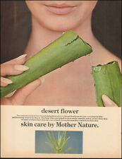 1960's Vintage ad for Desert Flower`Skin Care Aloe Vera plant photo (042515)