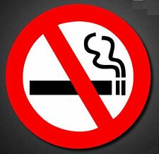 No smoking health alert keep fit for u Sticker Decal Vinyl Car Guitar Suitcase