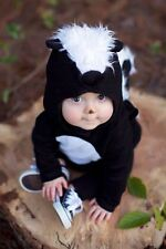 NWT/NEW POTTERY BARN KIDS CHILD TODDLER SKUNK HALLOWEEN COSTUME 2T-3T 2-3