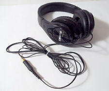 Shure SRH240 Professional Quality Over the Ear Wired 3.5mm Jack Headphones Black