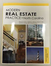 Modern Real Estate Practice North Carolina (NC) 8th Edition Update Revised Book