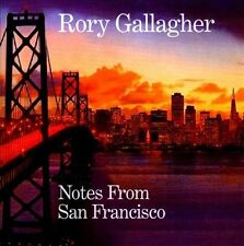 RORY GALLAGHER Notes From San Francisco 2CD BRAND NEW Studio & Live