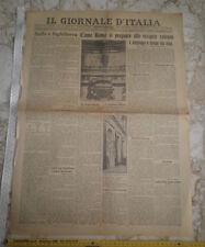 IL GIORNALE D'ITALIA 9 gennaio 1926 - Come Roma si prepara alle esequie solenni