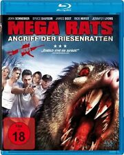 MEGA RATS (RETURN OF THE KILLER SHREWS) - Blu-Ray Disc + 2 Bonus Movies !