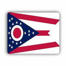 Ohio State Flag Computer Mouse Mat Pad Desktop PC Laptop