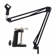 Neewer Microphone Suspension Boom Arm Stand w/ Shock Mount for Broadcast Studio