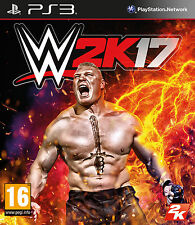 WWE 2K17 PS3 Game (PRE OWNED) (USED) Excellent Condition