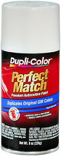 Dupli-Color BGM0434 Olympic White General Motors Auto Paint 8oz FREE SHIPPING