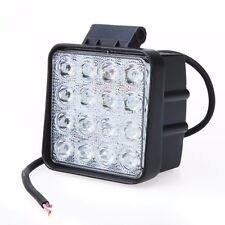 48W Flood LED Off road Work Light Lamp 12V 24V Cars boat Truck Driving UTE