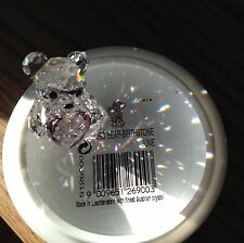 Swarovski Crystal Figurine BIRTHSTONE KRIS BEAR JUNE