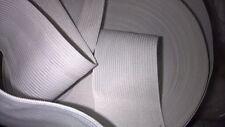 2 m d' d'elastique col blanc 5 cm ou 50 mm