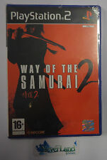 Game Gioco SONY Playstation 2 PS2 PAL ITALIANO Capcom WAY OF THE SAMURAI 2 NUOVO
