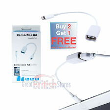 Lightning 8 pin per Fotocamera USB adattatore del connettore OTG CAVO PER IPAD 4 air/2 MINI