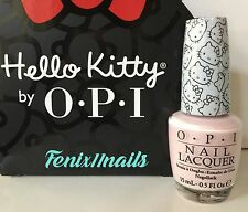 New OPI HELLO KITTY NL H82 LET'S BE FRIENDS! cotton candy pink nail polish color