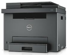 New Dell E525W Color Laser All-in-One Printer with 4 Toners