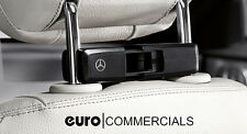 Genuine Mercedes-Benz Headrest Base Carrier for Coat Hanger & Accessories