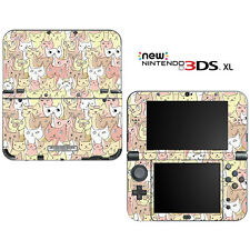 Kitty Cat Pattern for New Nintendo 3DS XL Skin Decal Cover