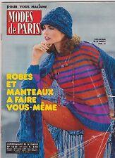SEPT/OCT 1978 MODES DE PARIS vintage FRENCH fashion magazine