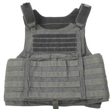 .First Spear Black Large SIEGE E-SAPI Plate Carrier CRYE CPC SWAT POLICE