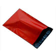 """10 fort rouge 6.5"""" x 9"""" courrier postal emballage sacs 170x240mm co-ex"""