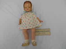 "19"" Antique Composition Effanbee Patsy Ann Doll W/Bracelet, Pat.1283558 (LK)"
