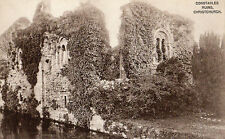 OLD POSTCARD - DORSET - Constable Ruins, Christchurch