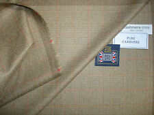 100% CASHMERE JACKETING/SUITING FABRIC  – 2.1 m.